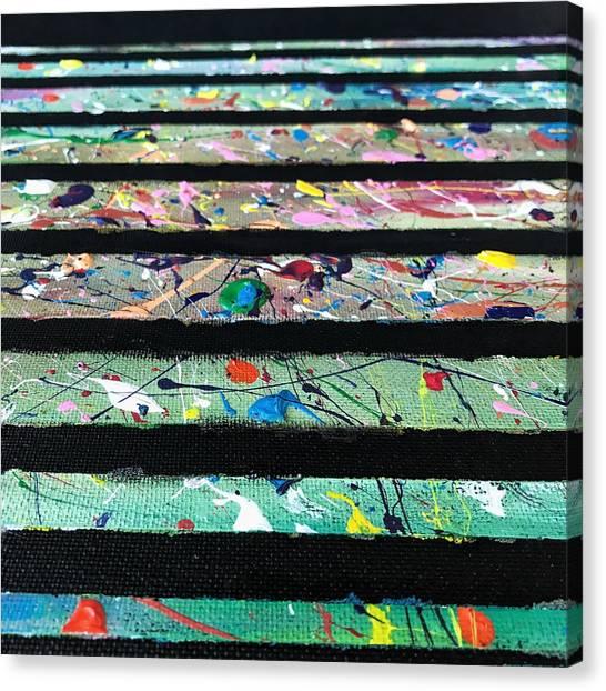 Detail Of Agoraphobia  Canvas Print