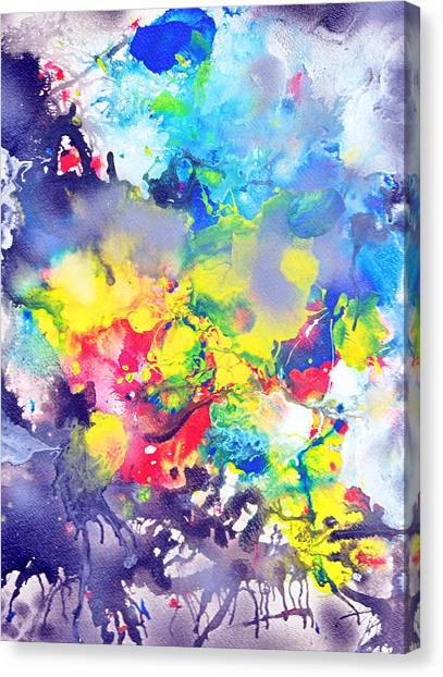 Detail The Emergence Of Color Canvas Print