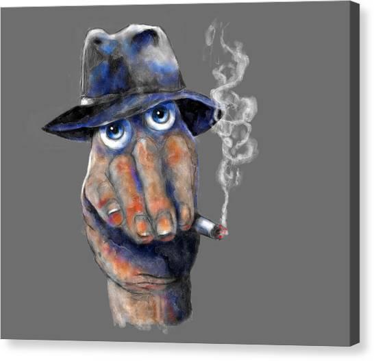 Detective Hand Canvas Print