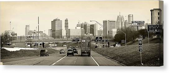 Detroit Michigan Canvas Print