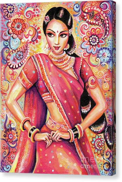 Devika Dance Canvas Print