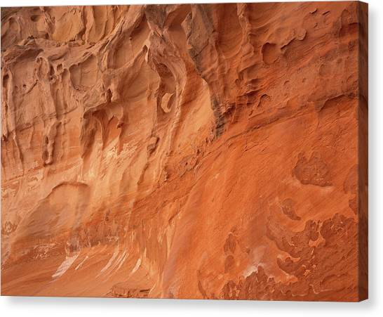 Devil's Canyon Wall Canvas Print