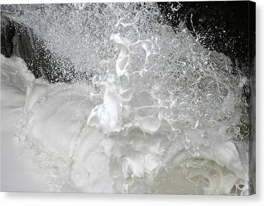 Devils Churn Up Close Canvas Print