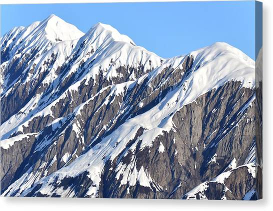 Devils Food With Frosting - Wrangall St. Elias Canvas Print