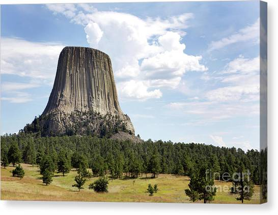 Devils Tower National Monument Canvas Print