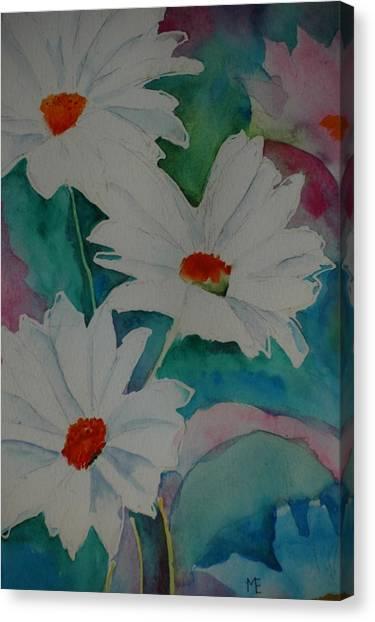 Devin's Dasies Canvas Print