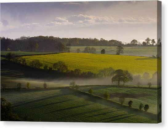 Devon Dawn Canvas Print by Neil Buchan-Grant