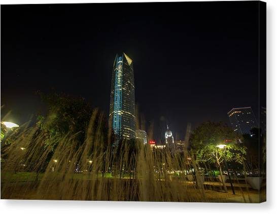 Devon Tower Okc 2 Canvas Print