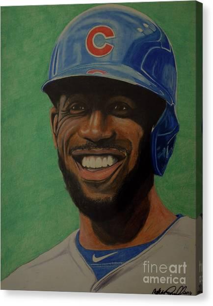 Dexter Fowler Portrait Canvas Print