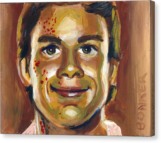 Dexter Canvas Print by Buffalo Bonker