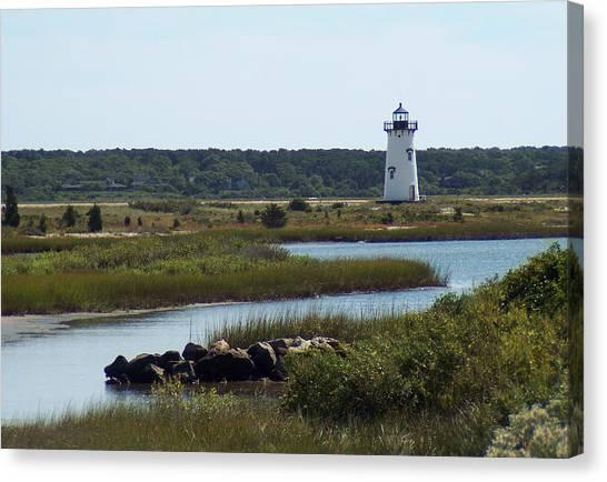 Edgartown Harbor Lighthouse Canvas Print
