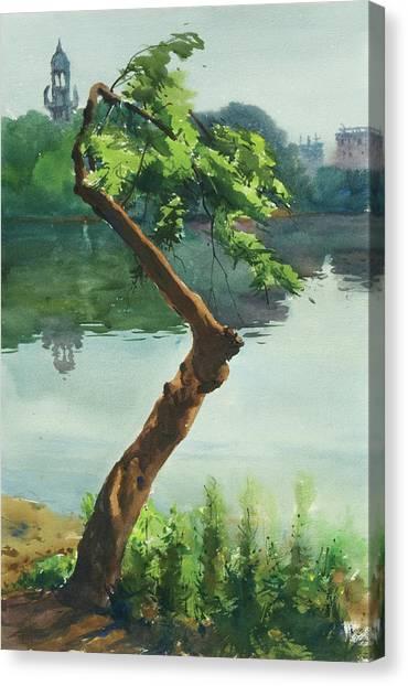 Dhanmondi Lake 03 Canvas Print