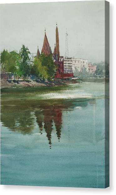 Dhanmondi Lake 04 Canvas Print