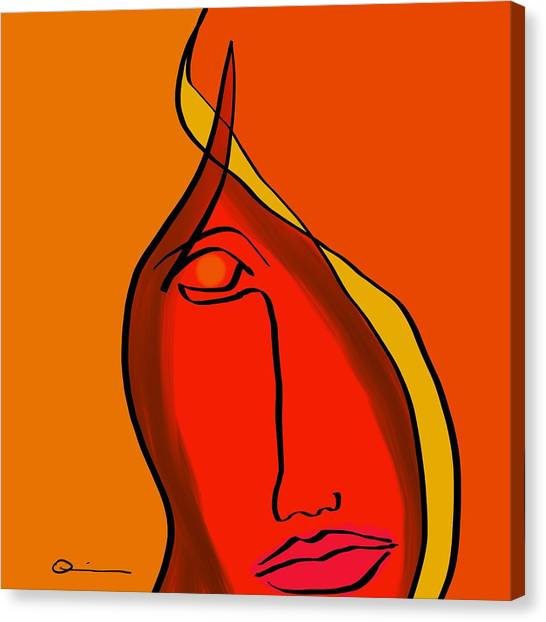 Diabla Canvas Print