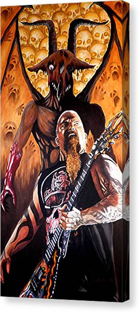 Diabolus In Musica  Canvas Print