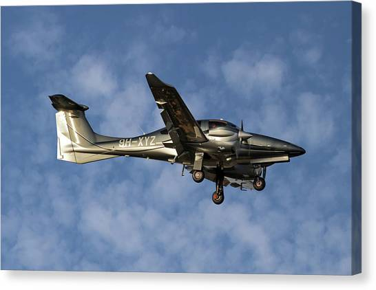Diamonds Canvas Print - Diamond Aircraft Diamond Da-62 1 by Smart Aviation