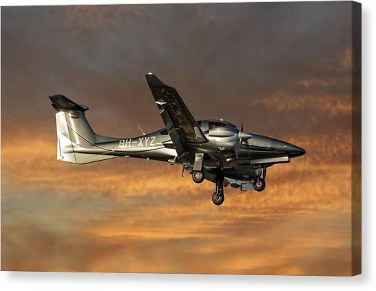 Diamonds Canvas Print - Diamond Aircraft Diamond Da-62 3 by Smart Aviation