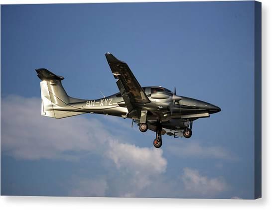 Diamonds Canvas Print - Diamond Aircraft Diamond Da-62 4 by Smart Aviation