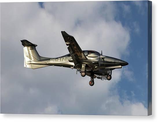 Diamonds Canvas Print - Diamond Aircraft Diamond Da-62 5 by Smart Aviation
