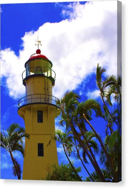 Diamond Head Lighthouse Canvas Print