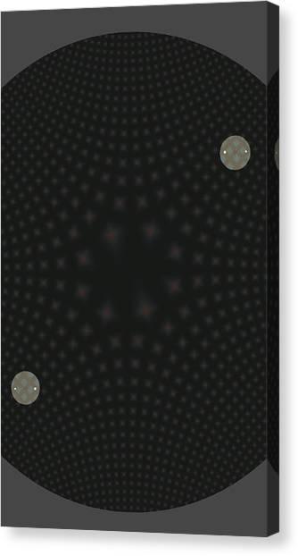 Diamond In The Round Canvas Print