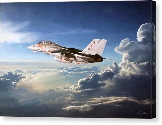 Diamondbacks Canvas Print - Diamonds In The Sky by Peter Chilelli