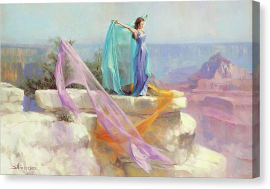 Grand Canyon Canvas Print - Diaphanous by Steve Henderson