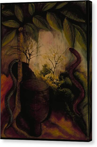 Diaspora Canvas Print by Barbara Nesin