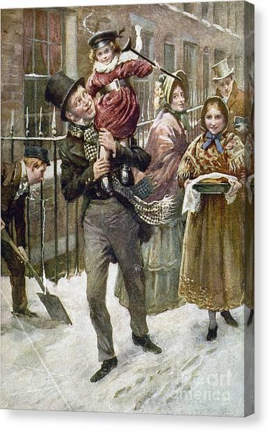 Aod Canvas Print - Dickens: A Christmas Carol by Granger