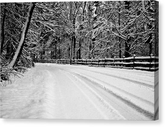 Dicksons Mill Road Canvas Print