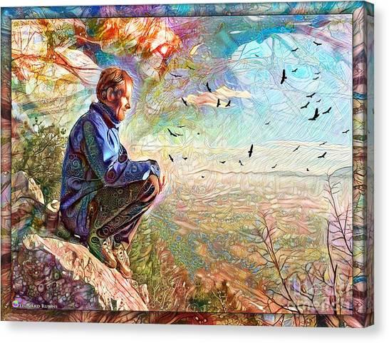 Die Slowly - Lentamente Muore  Canvas Print