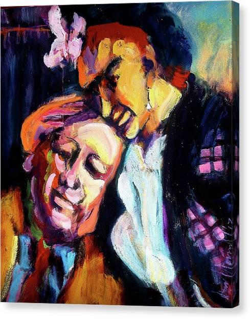Diego And Frida Canvas Print