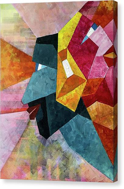 Different Opinions Canvas Print - Differences by Tanisi Bhatt