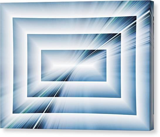 Diffraction Canvas Print