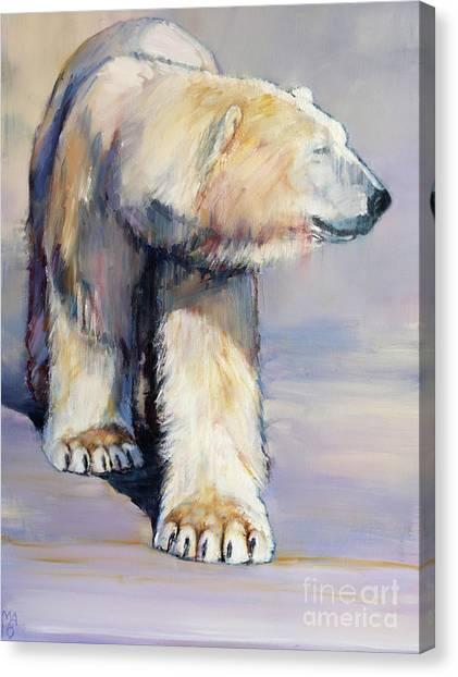 Bear Claws Canvas Print - Diffuse by Mark Adlington