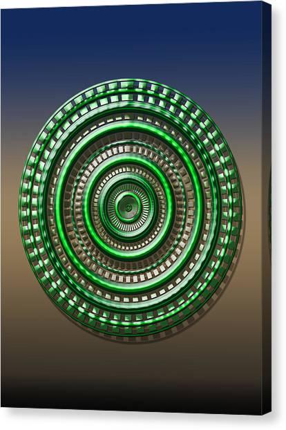 Digital Art Dial 3 Canvas Print