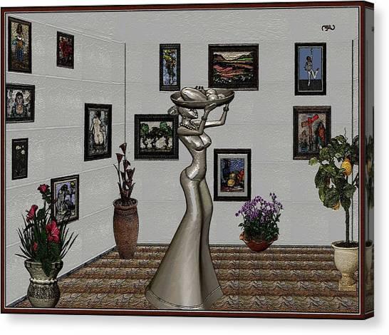 Digital Exhibition 26 Canvas Print