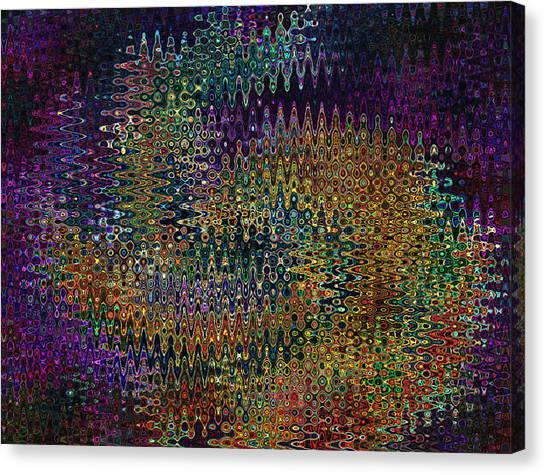 Digital Motion Canvas Print by Iliyan Bozhanov