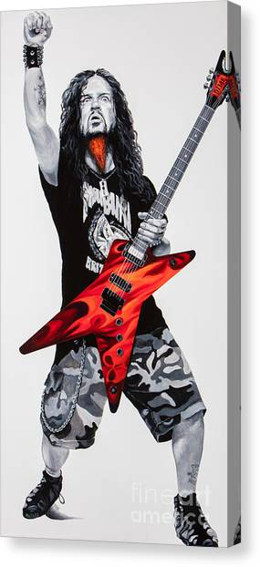 Dimebag Forever Canvas Print