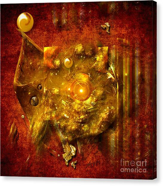 Dimension Hole Canvas Print