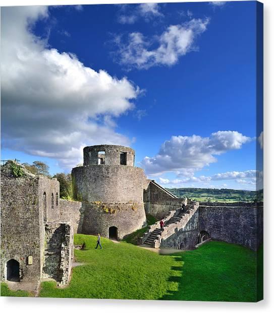 Dinefwr Castle 1 Canvas Print