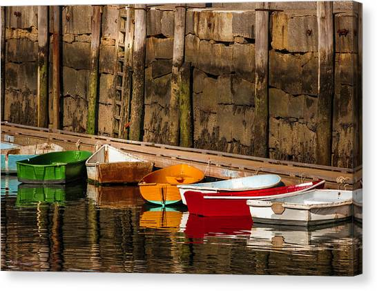 Dinghy Heaven Canvas Print