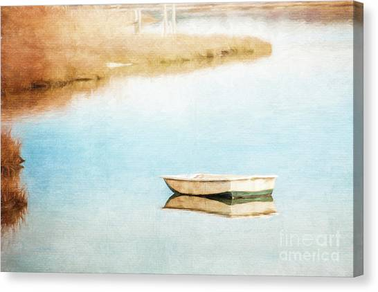 Dinghy In Eastham Canvas Print