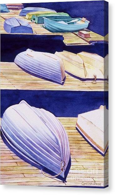 Dinghy Lines Canvas Print