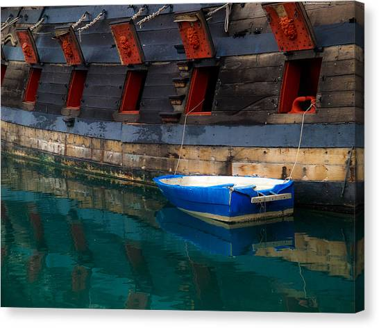 Dinghy Canvas Print