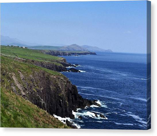 Dingle Coast Near Fahan Ireland Canvas Print