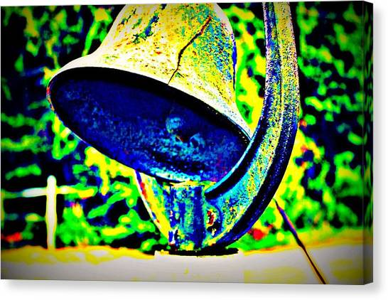 Dinner Bell Canvas Print by Jill Tennison
