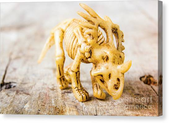 Beast Canvas Print - Dinosaurs At The Toy Museum  by Jorgo Photography - Wall Art Gallery
