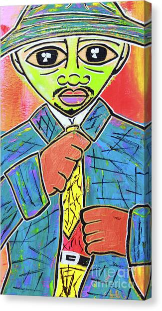 Dipped And Dapper Canvas Print