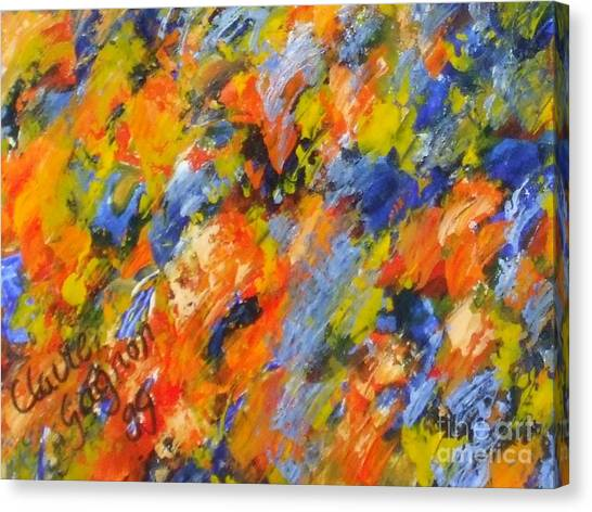 Diptych Part 2 Canvas Print